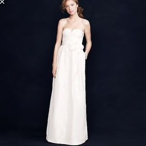 J Crew Sacsha Wedding Formal Gown NEW